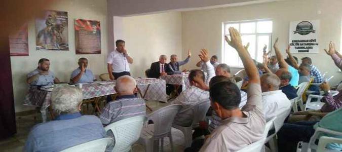 Kırkharman Derneği Olağan Genel Kurul Toplantısı Yapıldı