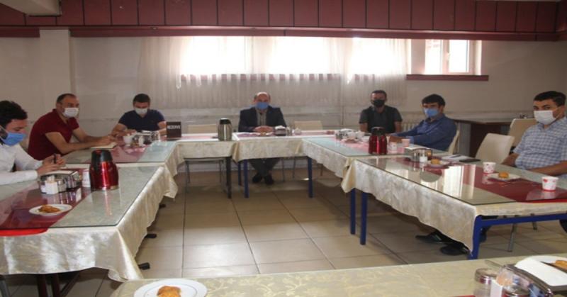 LGS Sınav Öncesi Değerlendirme Toplantısı Yapıldı