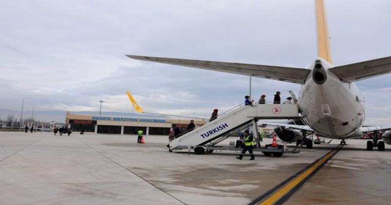 Merzifon Hava Limanında Uçuşlar 4 Haziran'da Başlıyor