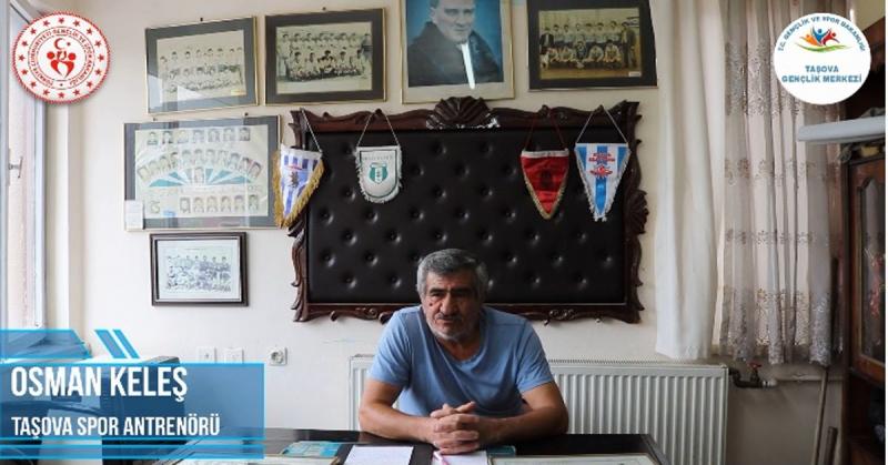 'Ne Mazi Ne Ati' Projesinin 14. Konuğu Taşova Spor Efsanesi Osman Keleş Oldu