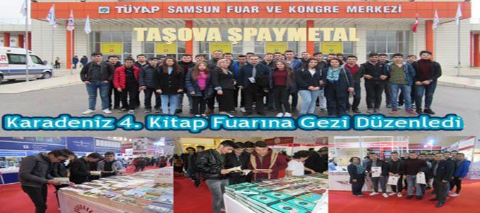 ŞPAYMETAL Karadeniz 4. Kitap Fuarına Gezi Düzenledi