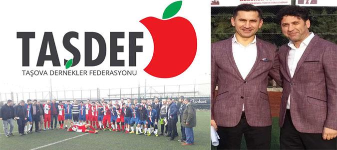 TAŞDEF Abdullah Türköz Futbol Turnuvasında İtirazlar Karara Bağlandı