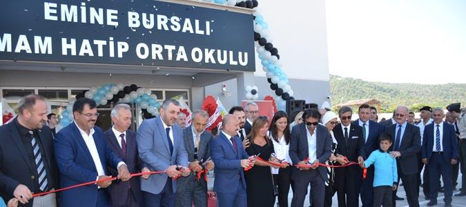 Taşova Emine Bursalı İmam Hatip Orta Okulu'nun açılışı yapıldı