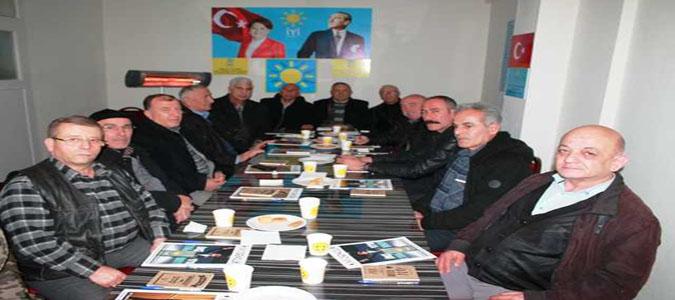 Taşova İyi Parti Teşkilatı'ndan Kongre Öncesi Toptantı