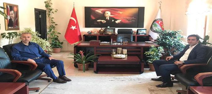 Taşova Kaymakamı Altuntaş'tan Başkan Öztürk'e Ziyaret