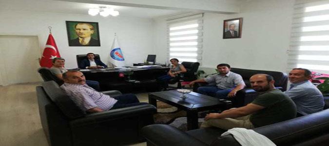 Taşova Merkez Muhtarlarından Kaymakam Altuntaş'a Ziyaret