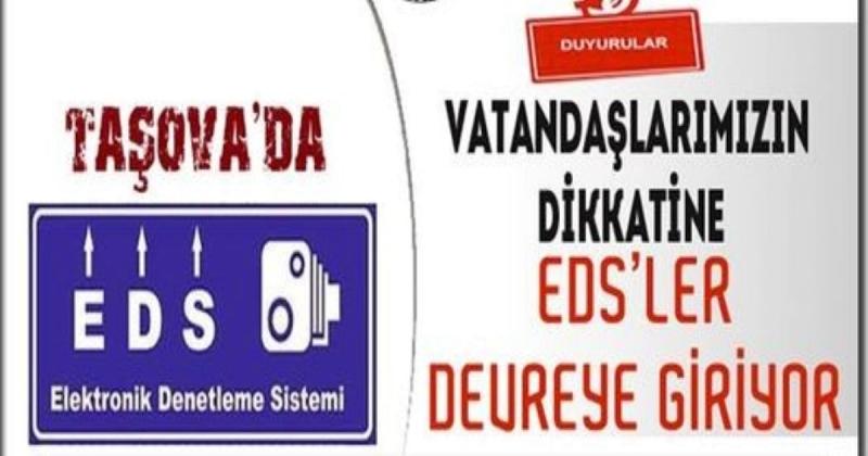 Taşova'da  EDS (Elektronik Denetleme Sistemi) Devreye Giriyor