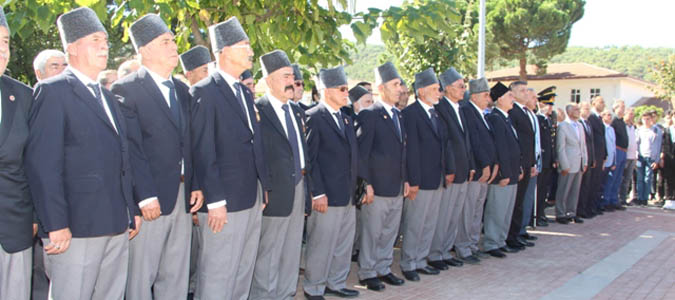Taşova'da Gaziler Günü Kutlandı