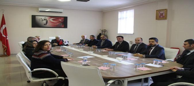 Taşova'da Uyuşturucu İle Mücadele Toplantısı Gerçekleştirildi