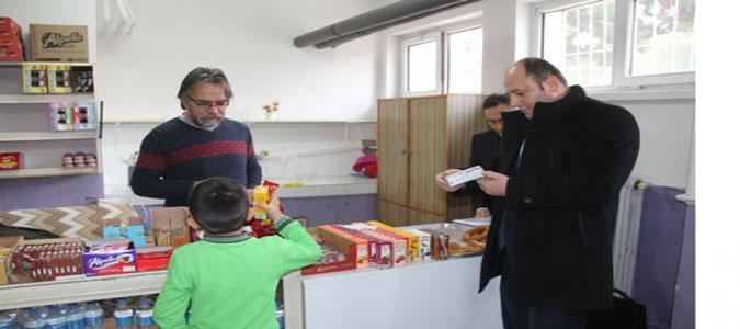 Taşova'daki Okul Kantinleri Denetlendi