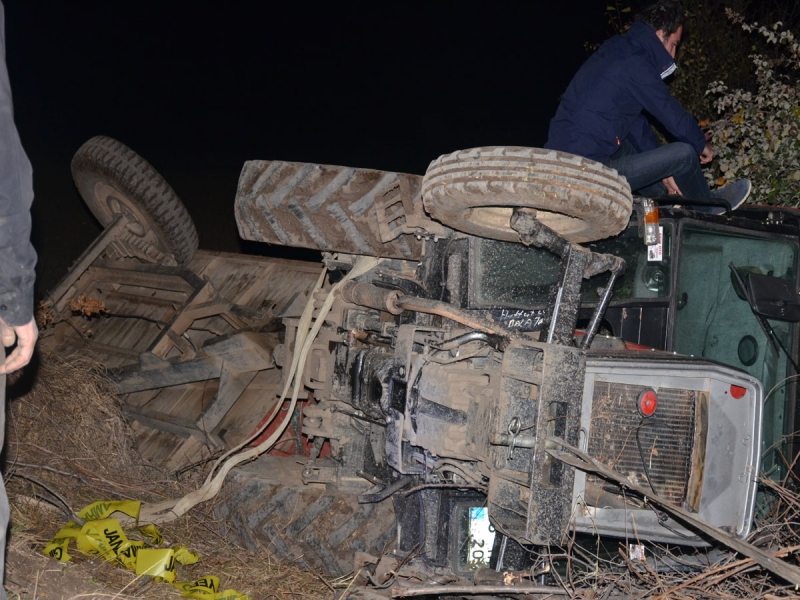Traktör Kazasında Hayatını Kaybetti
