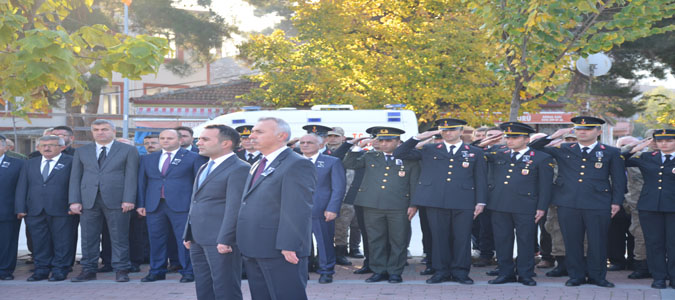 Ulu Önder Atatürk 81. Ölüm Yıl Dönümünde Taşova'da Anıldı