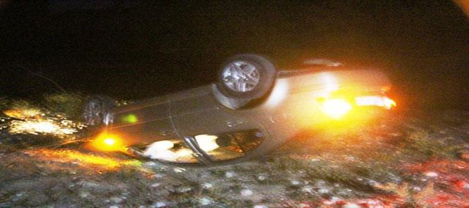 Uluköy Köprüsünde Trafik Kazası