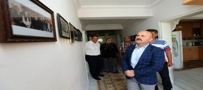 Vali Varol'dan Babalar Gününde Sürpriz Ziyaret