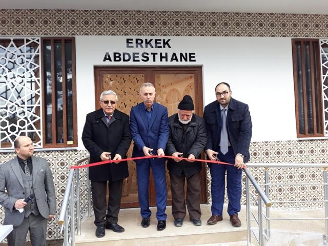 Yenilenen Merkez Çarşı Camii Şadırvanı Açılışı Yapıldı
