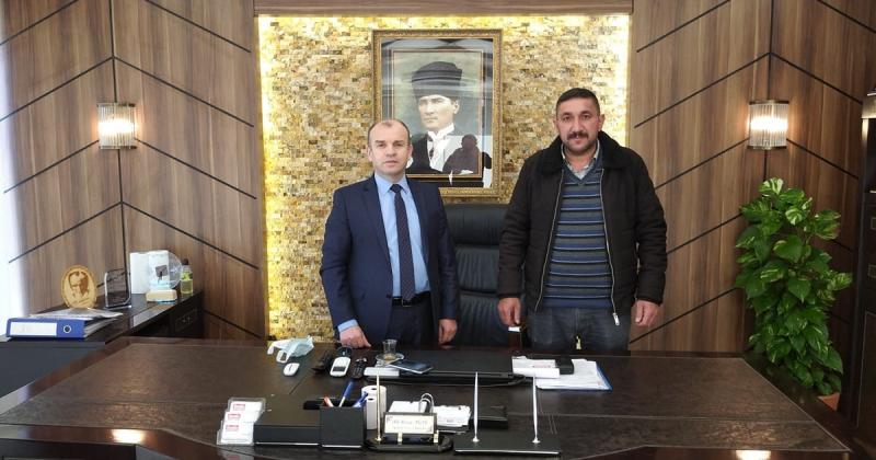 Esençay Köyü Gönüllüleri Derneği Başkanı Arslan, TAŞÇEV'i Ziyaret Etti