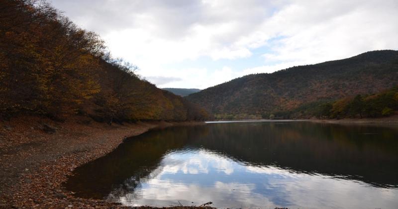 Boraboy Gölü'nde Sonbahar