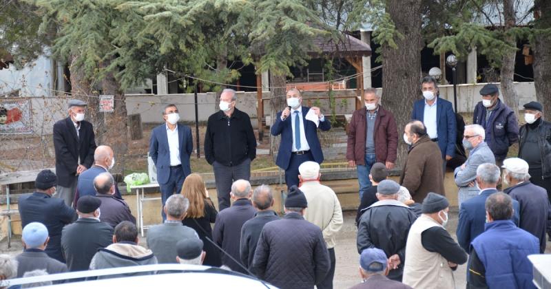 TAŞÇEV Esençay'da Bilgilendirme Toplantısı Yaptı